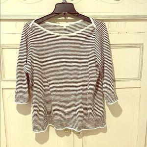 Eileen Fisher Boatneck Sweater - Sz. M